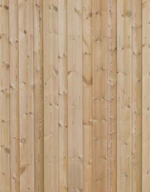 Co2 Larch <sup>&reg;</sup> Contemporary Fencing Slatted