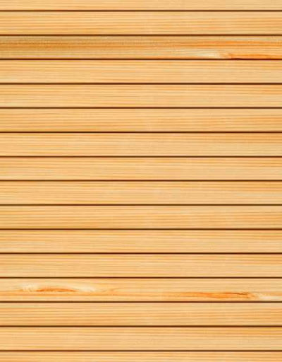 Co2 Larch <sup>&reg;</sup> Contemporary fencing Rain Screen