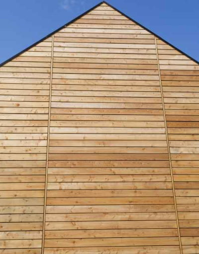 Co2 Larch ® shadow Gap Cladding