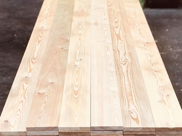 14 Co2 Larch <sup>®</sup> Siberian Larch Decking